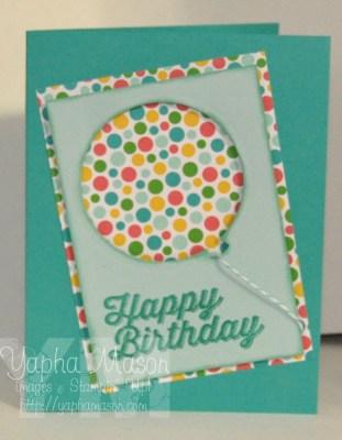 Birthday Balloon by Yapha