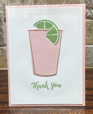 Powder Pink Plexus Card by Yapha