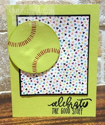Celebrate Softball by Yapha