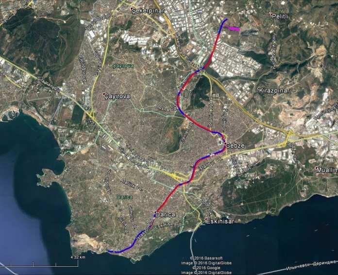Gebze OSB - Darıca Sahil Metro Hattı'nda Son Durum