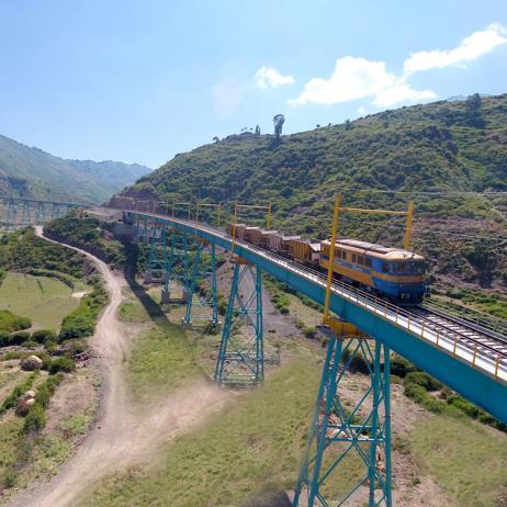 Awash - Kombolcha - Hara Gebeya Railway