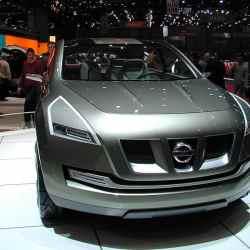 Nissan Qaşqai. 2004-cü il Geneva Motor Show`da