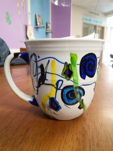sharpie mugs and tyvek flowers 040