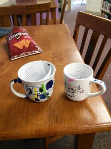sharpie mugs and tyvek flowers 041