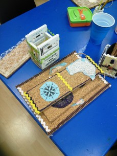 cork boards and cassett tape pencil holders 007