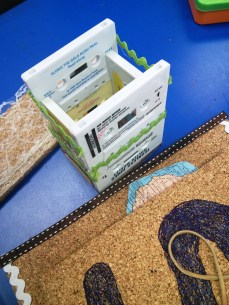 cork boards and cassett tape pencil holders 009