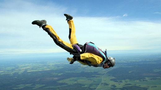 Собрание спортсменов-парашютистов