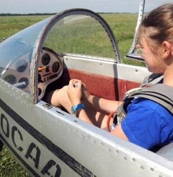 Набор в планерную секцию «Юный летчик»