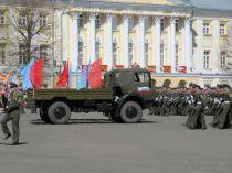 Парад 9 мая. Ярославль