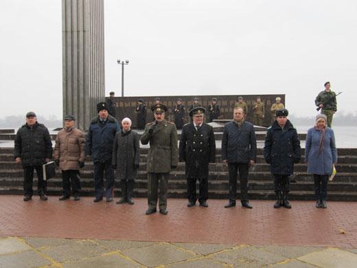 Организаторы Слёта на открытии митинга