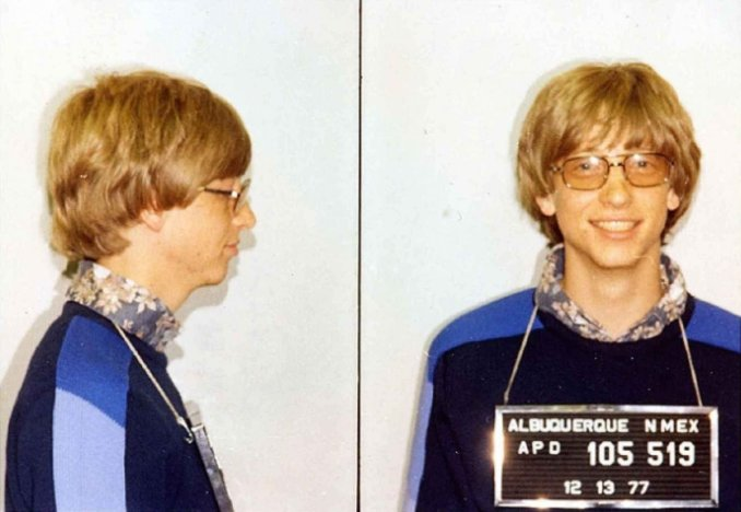 bill gates got three speeding tickets two from the same cop while driving his porsche 911 from albuquerque up to his new home in seattle د بیل ګیټس د ژوند ځینې عجیب اړخونه