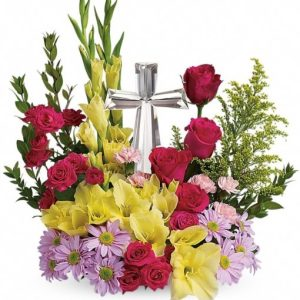 Crystal-Cross-Bouquet