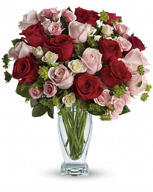 Cupids-Creation-with-Red-Roses