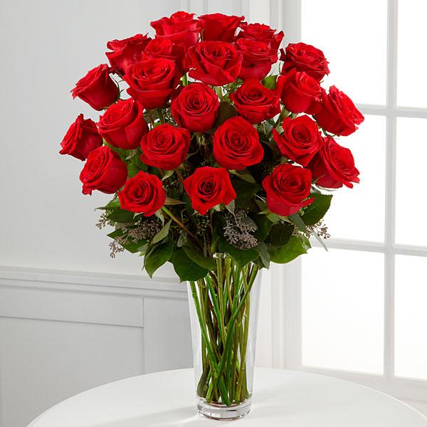 36 Long Stem Red Roses