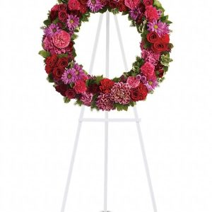 Infinite Love Wreath Yara Flowers