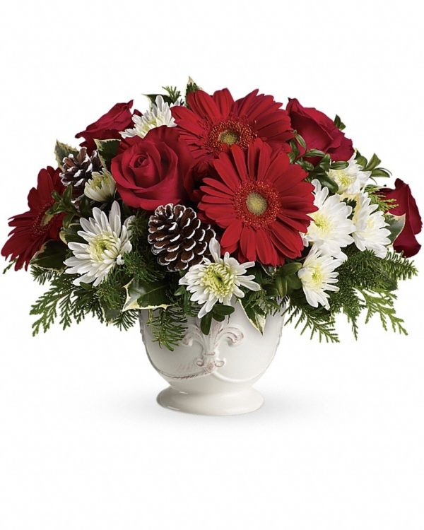 Simply Merry Centerpiece Bouquet Yara Flowers