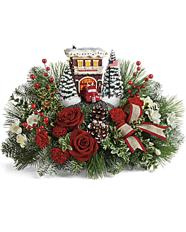 Thomas Kinkade 2 Bouquet Yara Flowers