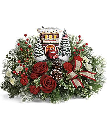 Thomas Kinkade 2 Bouquet Yara Flowers