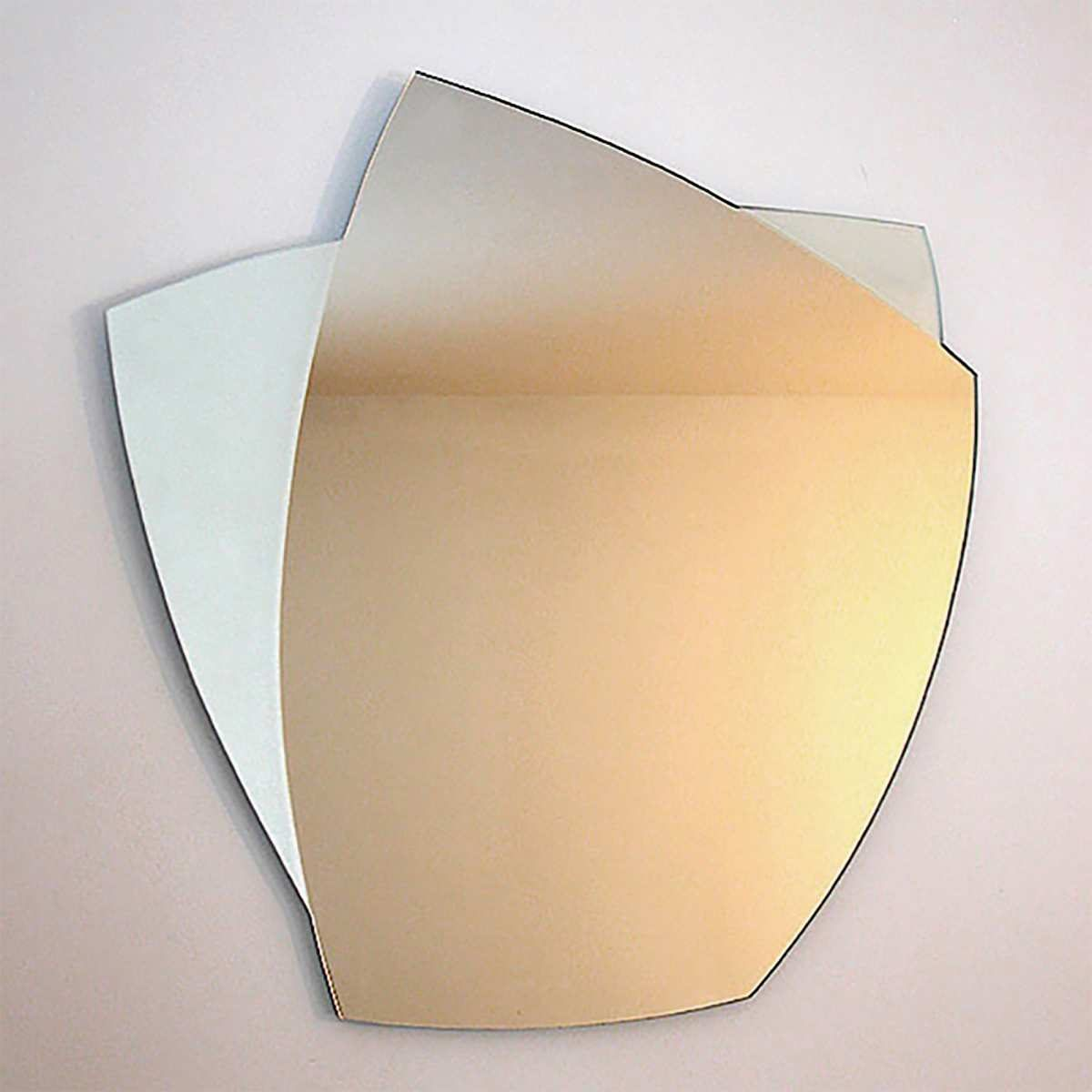 Abstract Wall Mirror by Yarbough Design
