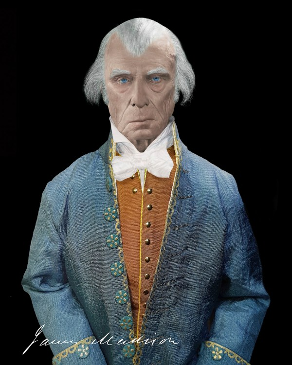 The Real Face of James Madison