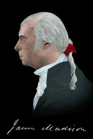 James Madison Profile Portrait Life Mask