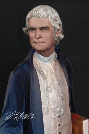 Thomas Jefferson Facial Reconstruction Life Mask