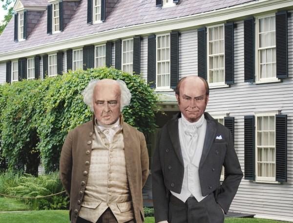 John Adams and John Quincy Adams