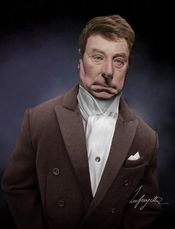 Marquis de Lafayette Real Face Life Mask Reconstruction