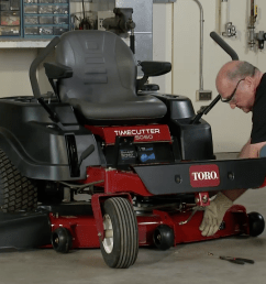 how to remove a mower deck toro timecutter yard care blog yard lawn maintenance advice and tips toroyard care blog yard lawn maintenance  [ 1272 x 716 Pixel ]