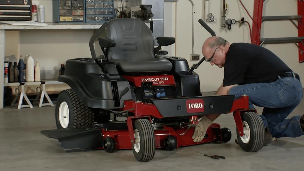 medium resolution of how to remove a mower deck toro timecutter yard care blog yard lawn maintenance advice and tips toroyard care blog yard lawn maintenance