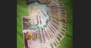 jamaican money 5000 bill donald songster cash paper
