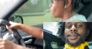 Popcaan Teaches His Mother How To Drive [Video]