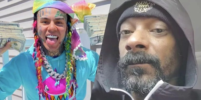 """Tekashi 6ix9ine Reminds Us That Snoop Dogg is also a """"Snitch"""" in this [Video]"""