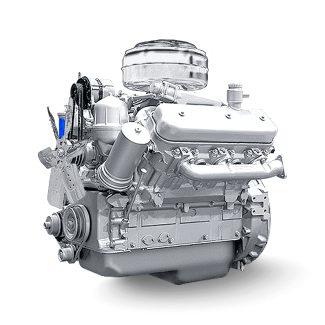 Двигатель ЯМЗ 236ДК-7