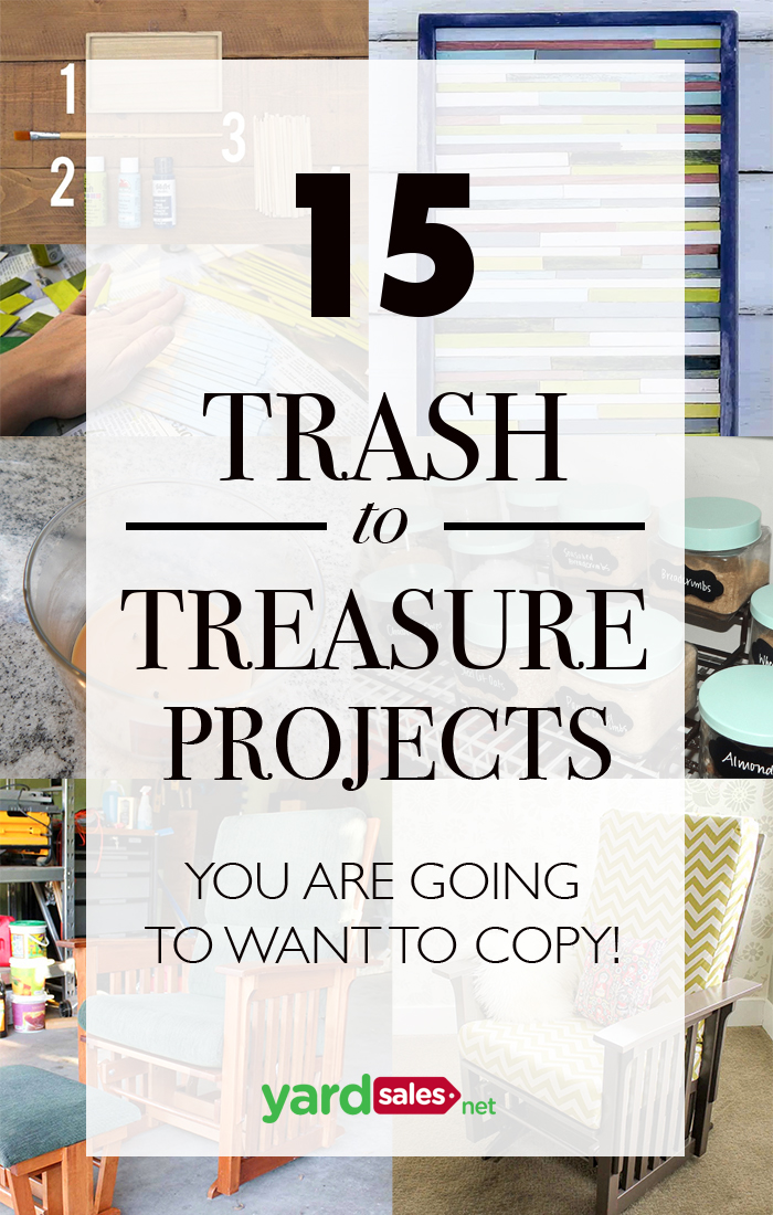 Trash To Treasure Ideas Home Decor