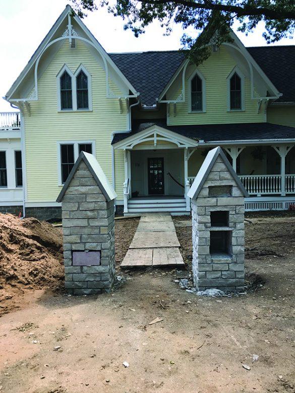 landscape design historic home