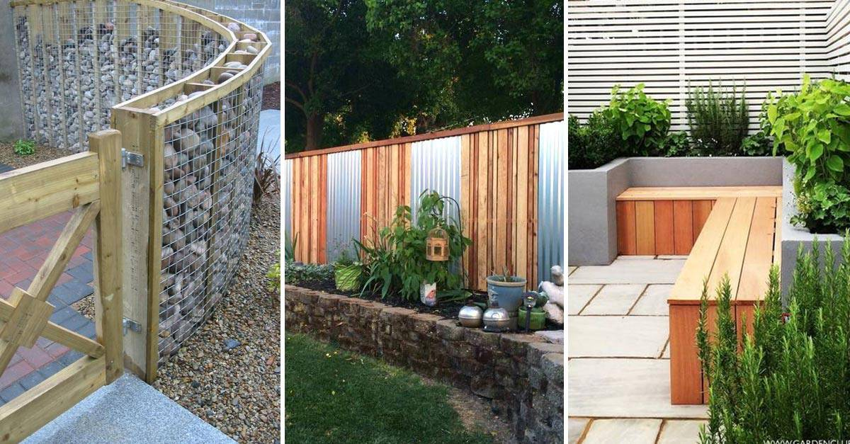 20 Beautiful Fence Designs And Ideas YARD SURFER