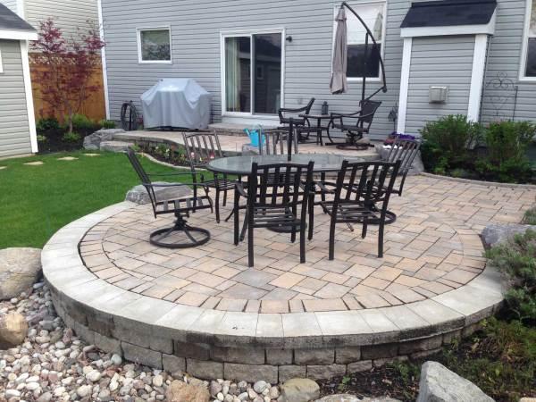 yard works landscaping design