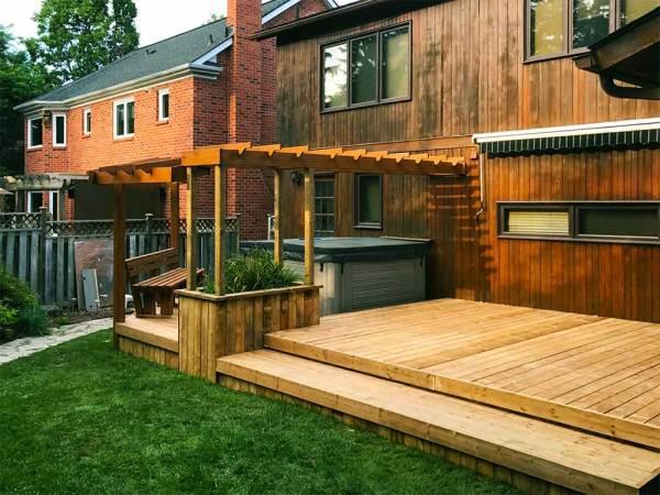 landscape design projects yard