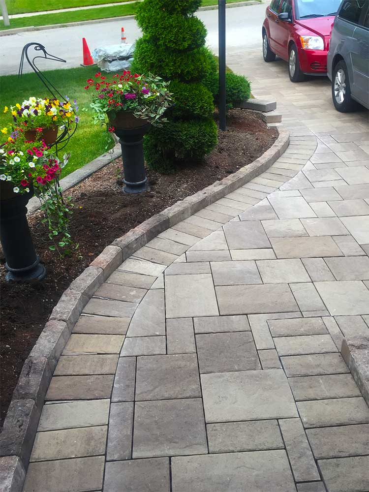 Interlock Stone Driveways Walkways and Patios Installation