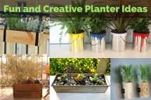Fun And Creative Planter Ideas Yardyum - Garden Plot