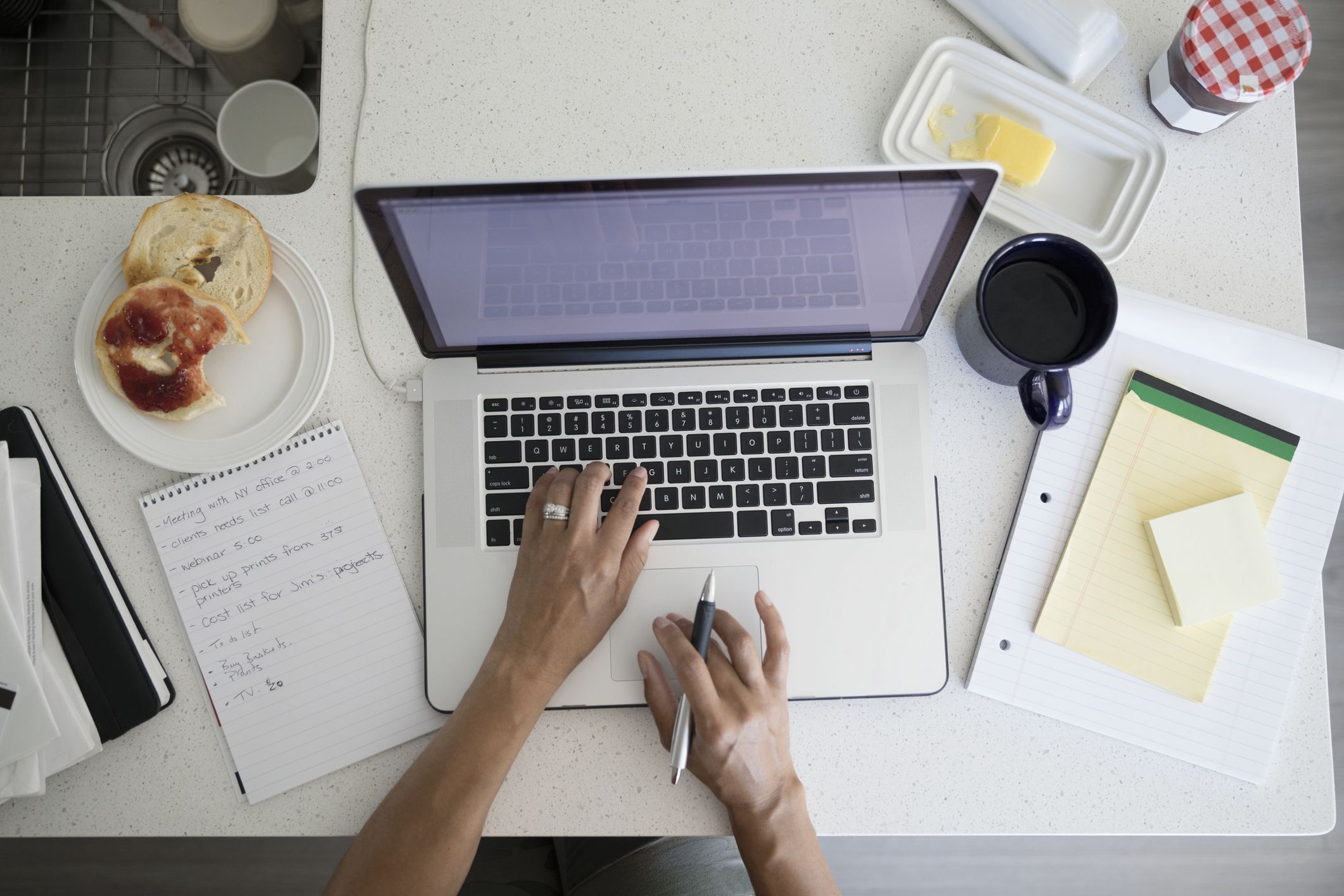 "10 ways to maximize ""work from home"" productivity"