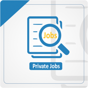 Latest Private Jobs in Paksitan