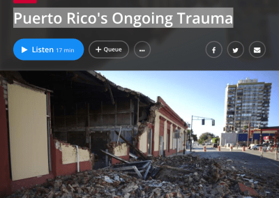 Puerto Rico's Ongoing Trauma