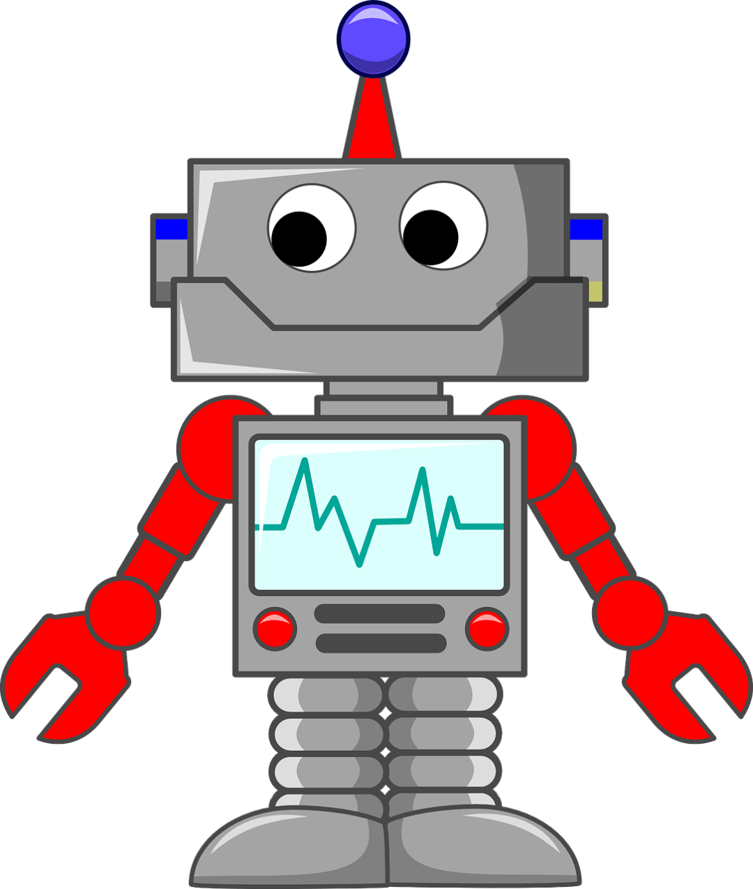 Thank you for contacting me- My funny Robot