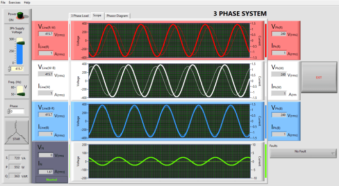 3 Phase Impedance Simulator