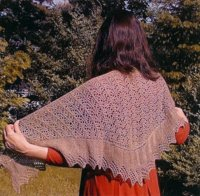 Bad Cat Designs Victorian Driftwood Shawl at WEBS | Yarn.com