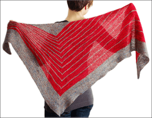 Fall KAL: Stripe Study Shawl