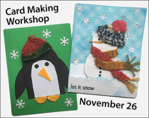 Holiday Card Making Workshop