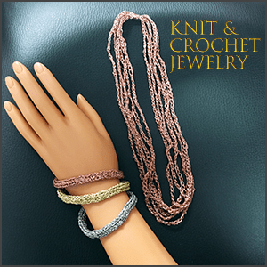 Knit and Crochet Jewelry